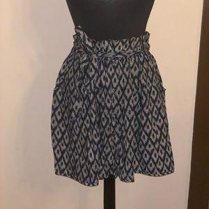 Anthropologie Print Skirt